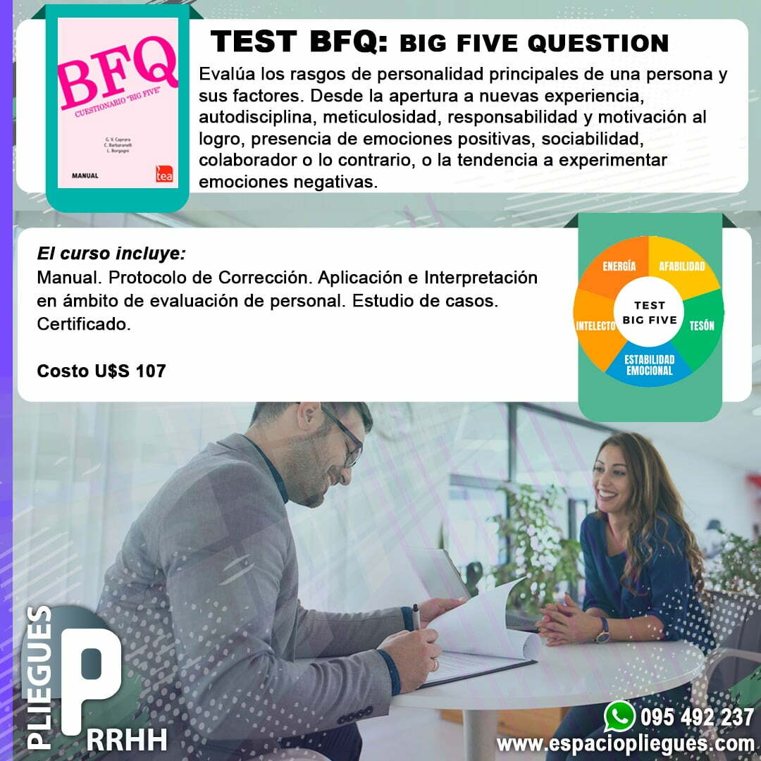 Test 2 personas trabajando